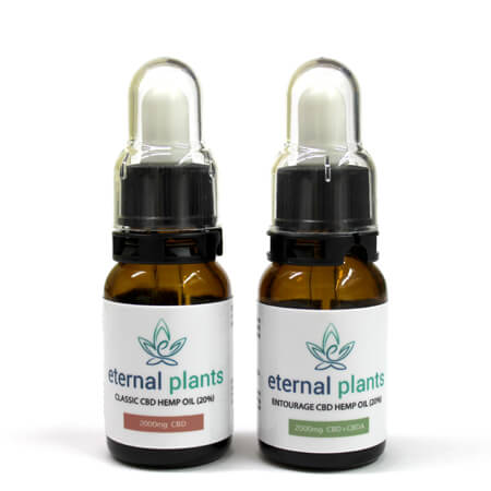 CBD Hemp Oil Drops 2000mg By Eternal Plants