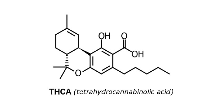 thca-chemical-structure