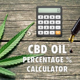 CBD Oil Percentage Calculator