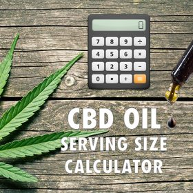 CBD Oil dosing calculator
